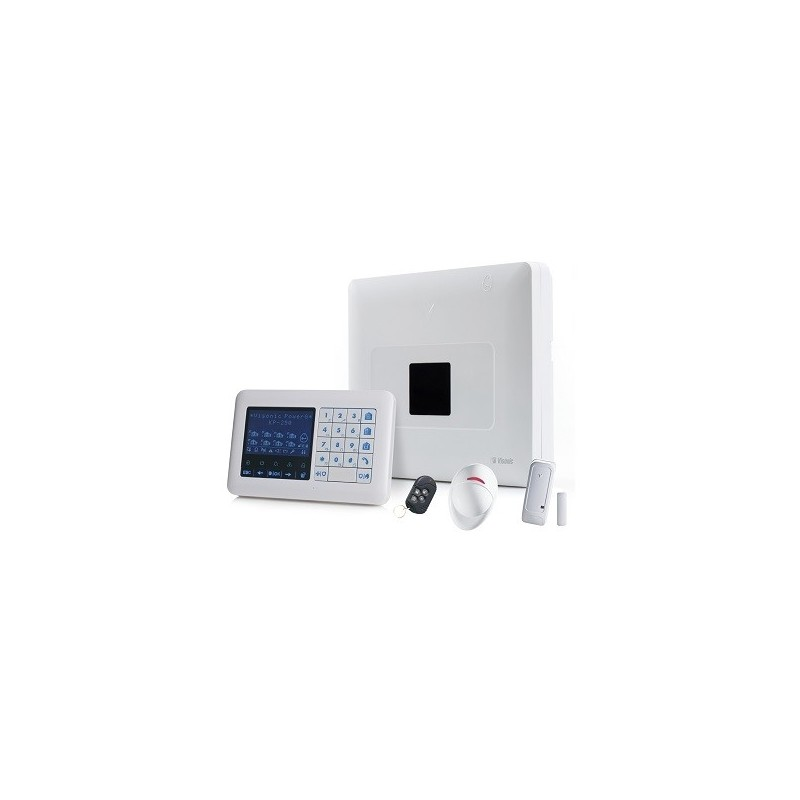 kit alarme visonic powermaster 33 avec clavier. Black Bedroom Furniture Sets. Home Design Ideas
