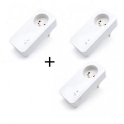 SIMPAL - Pack prise connectée GSM / radio T40 deux prises T20