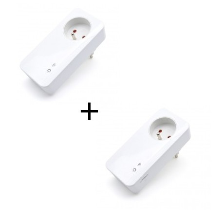 SIMPAL - Pack prise connectée GSM / radio T40