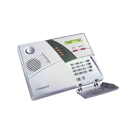 kit alarme powermax plus visonic centrale alarme avec clavier. Black Bedroom Furniture Sets. Home Design Ideas