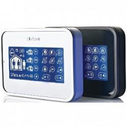 Teclado KP-160PG2 Visonic - Teclado táctil NFA2P lector de placas de identificación, para la central de alarma PowerMaster