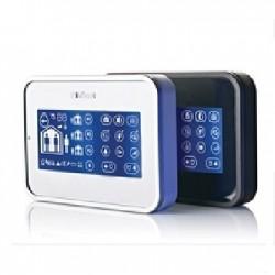 Teclado MKP160 Visonic - Teclado táctil, lector de placas de identificación, para la central de alarma PowerMax Pro