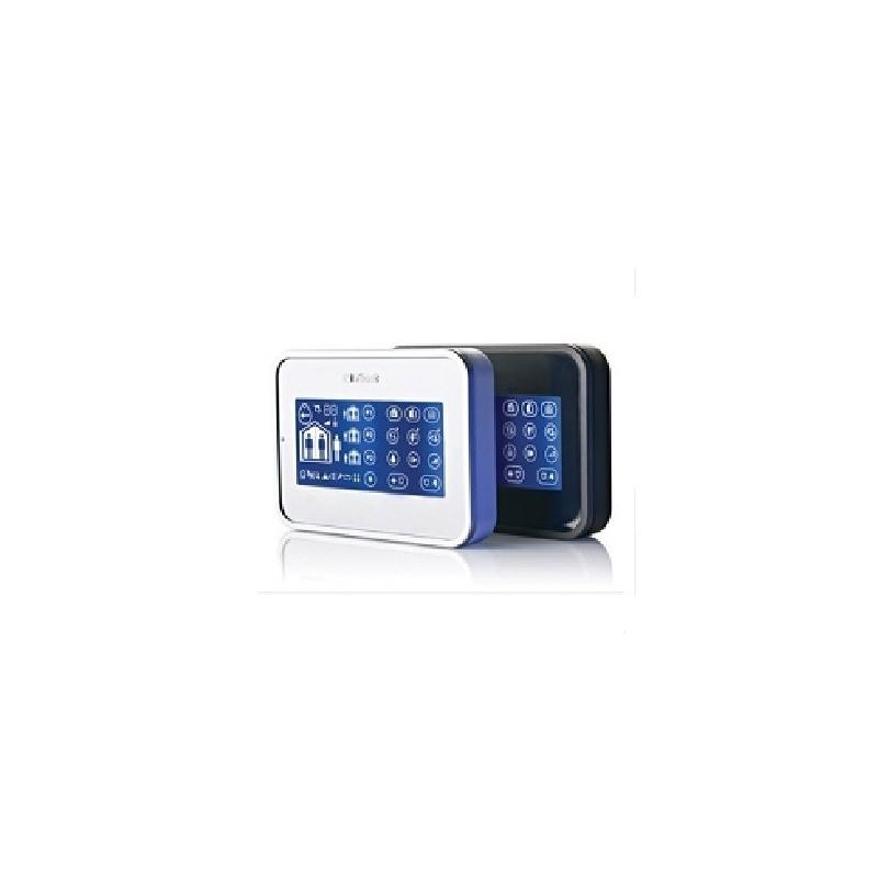 keyboard mkp160 visonic touch keyboard badge reader for central alarm powermax pro. Black Bedroom Furniture Sets. Home Design Ideas