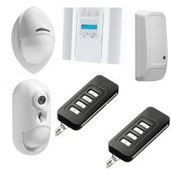 DSC Wireless Premium - Pack alarme IP connecté avec détecteur caméra PowerG