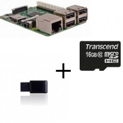 Raspberry PI 3 Jeedom Z-Wave Más