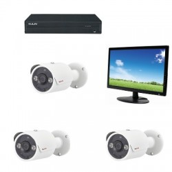 Pack de cctv analógico HD 1080P PACK-H408