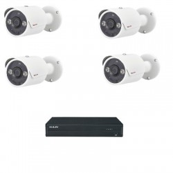 Lilin PACK-HAD204A - Pack analogen cctv HD 1080P