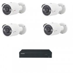 Lilin PACK-HAD204A - Pack vidéosurveillance analogique HD 1080P