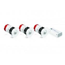 Pack 3 Led MPRO luce da incasso compatibile Casella di Energeasy