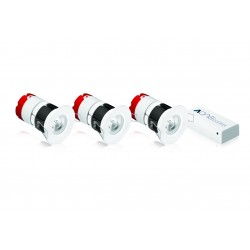Pack 3 Leds MPRO à encastrer compatible Box Energeasy