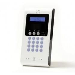 Iconnect EL4727 - LCD-bedienteil für zentrale wireless-alarm -