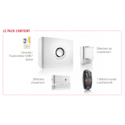 Pack alarme Protexiom Start GSM Somfy