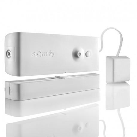 Somfy alarme - Détecteur ouverture et de bris de vitre blanc