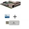Raspberry PI 3 Model B - Raspberry Pi 3 Model B avec contrôleur Z-wave Plus Everspring SA413