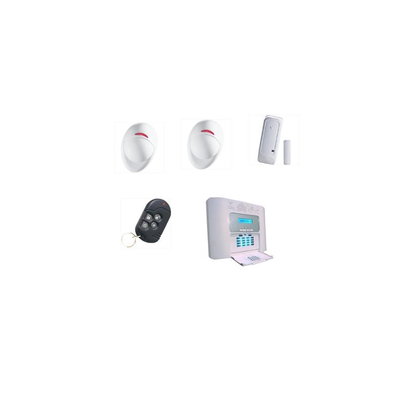 alarme maison visonic powermaster 30 pour habitation kit 2. Black Bedroom Furniture Sets. Home Design Ideas