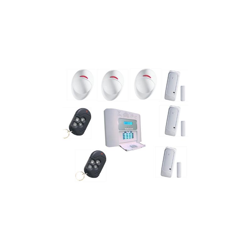pack alarme maison powermaster 30 visonic pour habitation. Black Bedroom Furniture Sets. Home Design Ideas