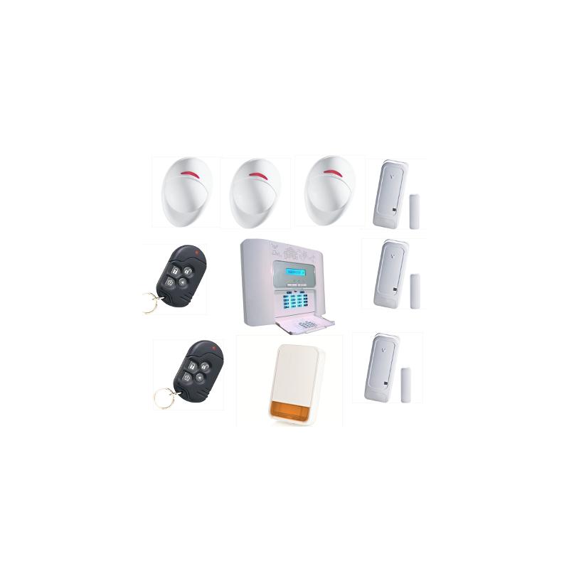 alarme maison powermaster 30 visonic pour habitation kit 6 plus. Black Bedroom Furniture Sets. Home Design Ideas