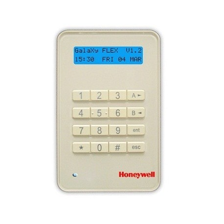 Clavier LCD Keyprox MK8 Honeywell pour centrale alarme Galaxy