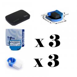 Pack de automatización del hogar Vera Plus - Caja de automatización del hogar módulos y Qubino ZMNHAD1