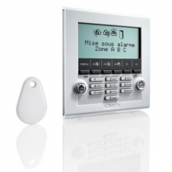 Somfy alarm - LCD-Toetsenbord met badge-lezer