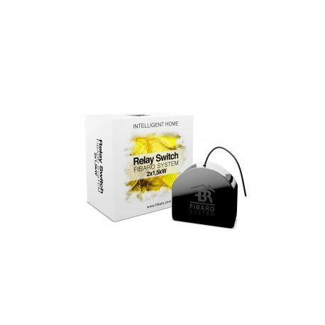 FIBARO FGS-222 - Micro module commutateur double Z-Wave Plus