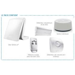 Tahoma Rust Essentieel - Somfy alarm aangesloten pack