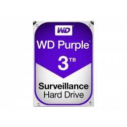 Festplatte Purple - Western Digital 3TB 5400 u/min 3,5""