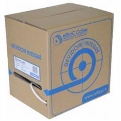 Cable de vídeo KX6 con 2*0.75 carrete de 150m