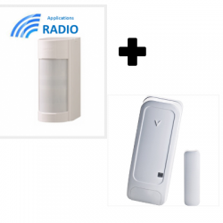 Visonic VXIRDAM - Detector de accesorios al aire libre optex doble IRP 12M 90° bajo conso IP55 ANTI-MÁSCARA