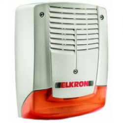 Elkron - Sirena al aire libre con flash