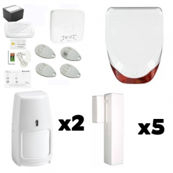 Pack Alarm THE SUGAR - Pack Honeywell, house Type F6 / F7