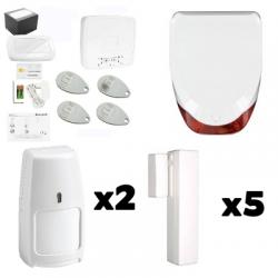 Pack de Alarma de la casa de AZÚCAR - Pack de Honeywell, Tipo de casa F6 / F7 con inmunidad a animales