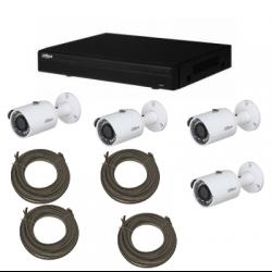 Pack de video vigilancia IP DAHUA 1MP 4 cámaras