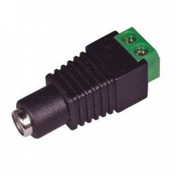 Clavija BNC macho de contracción para el cable de vídeo KX6