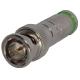 Fiche BNC mâle à compression pour câble vidéo HR6