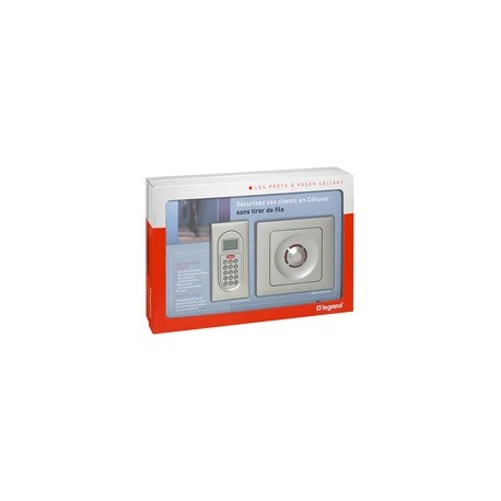 Kit de alarma LEGRAND inalámbrico listo para poner 043208