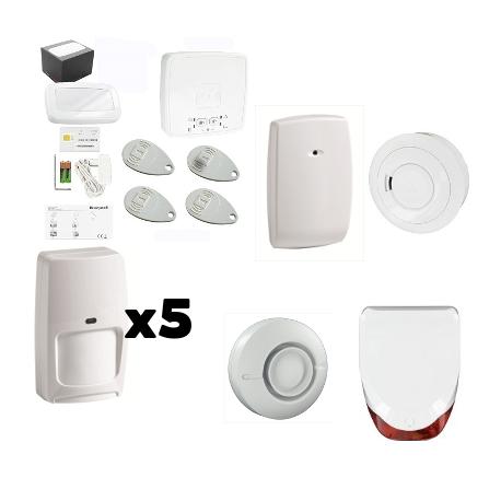 Alarme LE SUCRE Honeywell - Pack Honeywell sécurité