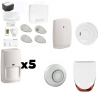 Alarm ZUCKER Honeywell - Pack Honeywell security