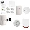 Pack Alarm-ZUCKER - Pack Honeywell-haus Typ F6 / F7