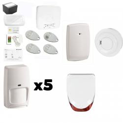 Alarma EL AZÚCAR Honeywell - Pack de Honeywell security sirena al aire libre