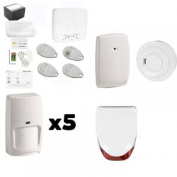 Alarme LE SUCRE Honeywell - Pack Honeywell sécurité sirène extérieure