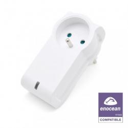 Nodon ASP-2-1-00 - Toma de corriente del interruptor de EnOcean