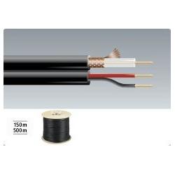 Video-kabel mit stromversorgung VSC-152/SW