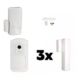 Alarm haus ZUCKER Honeywell - Pack Honeywell sicherheits-IP-und GSM