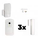 Alarme maison LE SUCRE Honeywell - Pack Honeywell sécurité IP et GSM