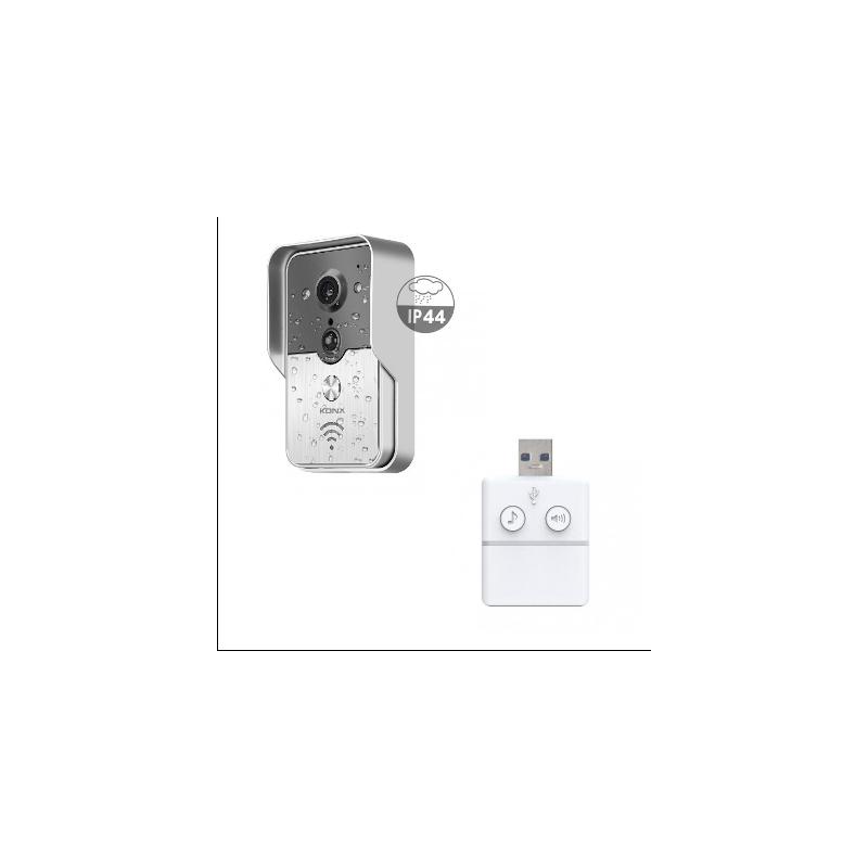 Konx kw01 gen2 portier vid o wifi ou ethernet ip gen2 - Portier video wifi ...