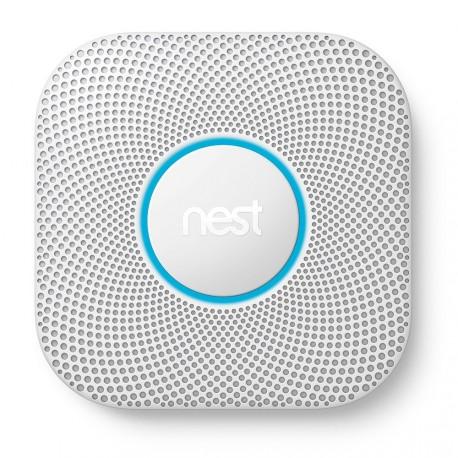 NEST - Détecteur de fumée et monoxyde de carbone Nest Protect à piles