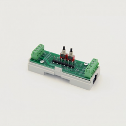 EUTONOMY S223 - Adapter euFIX DIN for Fibaro FGS-223 with buttons