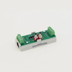 EUTONOMY S213 - Adaptateur euFIX DIN pour Fibaro FGS-213 avec boutons