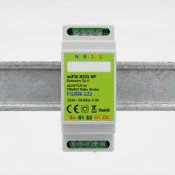 EUTONOMY - Adaptador de euFIX DIN para Fibaro FGR-222 sin botones
